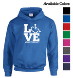 LOVE Music Therapy Hooded Pullover