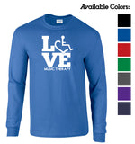 LOVE Music Therapy Long Sleeve