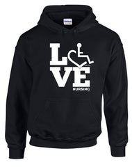 LOVE Nursing Hooded Pullover