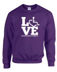 LOVE Occupational Therapy Crewneck Sweatshirt
