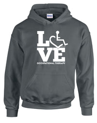 LOVE Occupational Therapy Hooded Pullover