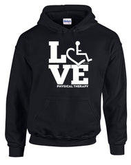 LOVE Physical Therapy Hooded Pullover
