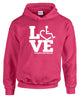 LOVE Rehab Counseling Hooded Pullover