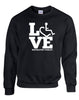 LOVE Respiratory Therapy Crewneck Sweatshirt