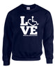 LOVE Special Education Crewneck Sweatshirt