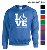 LOVE Therapeutic Riding Crewneck Sweatshirt