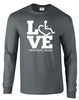 LOVE Therapeutic Riding Long Sleeve