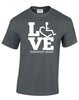 LOVE Therapeutic Riding T-Shirt