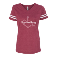 Occupational Therapy Women's Football Jersey Tee