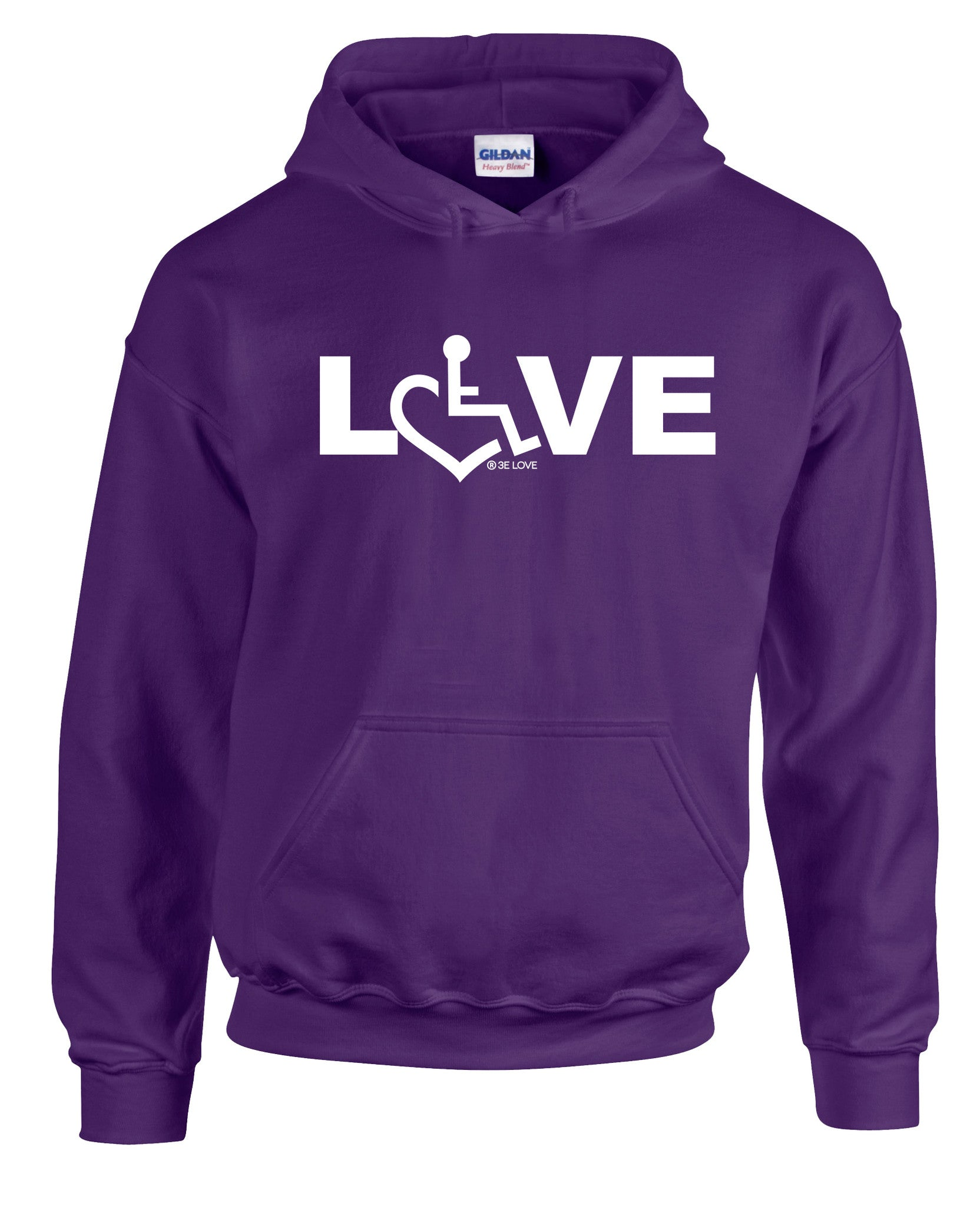 LOVE Hooded Pullover