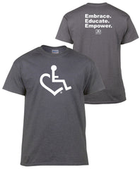 Dark Heather Grey - Original Heart Tee