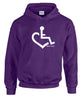 Original Heart Hooded Pullover