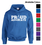 Proud Advocate Hooded Pullover