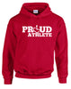 Proud Athlete Hooded Pullover