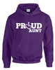 Proud Aunt Hooded Pullover
