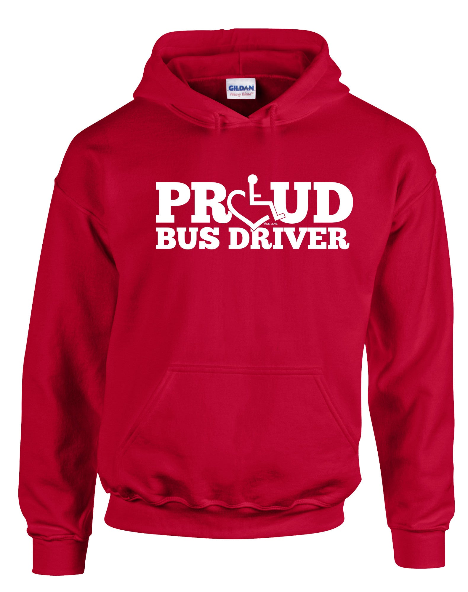 Proud Bus Driver Hooded Pullover