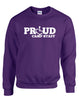 PROUD Camp Staff Crewneck Sweatshirt