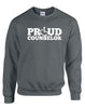 Proud Counselor Crewneck Sweatshirt