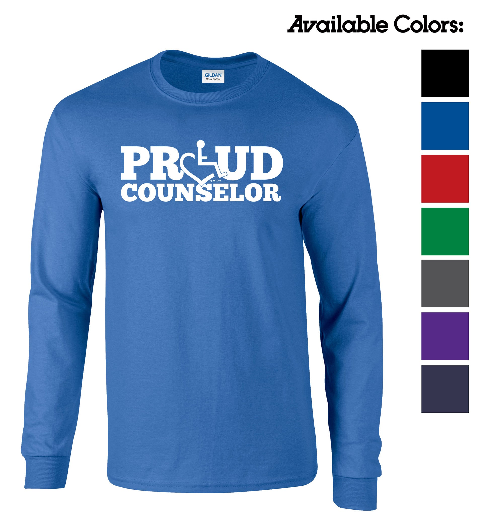 Proud Counselor Long Sleeve