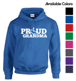Proud Grandma Hooded Pullover