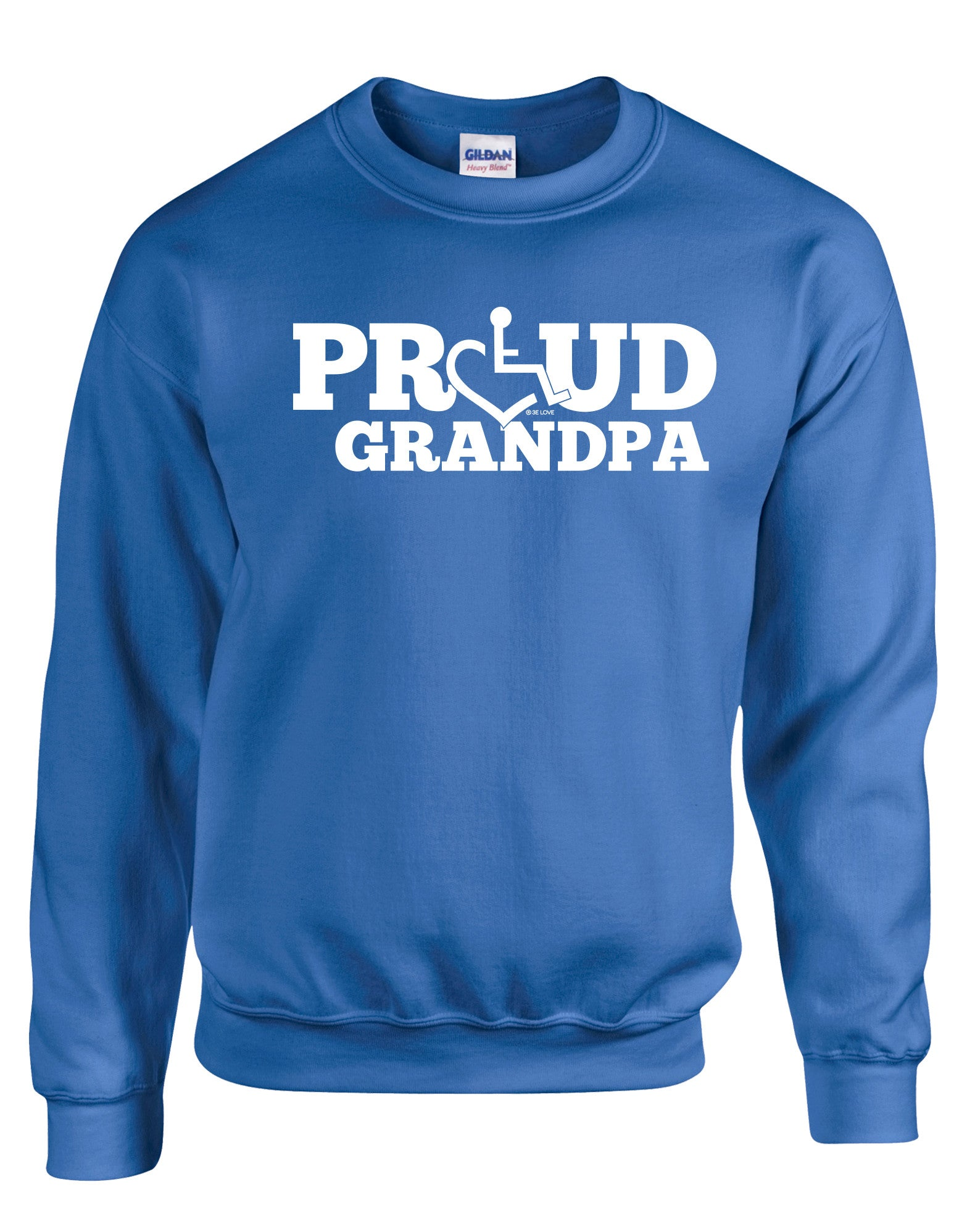 Proud Grandpa Crewneck Sweatshirt