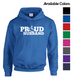 Proud Husband Hooded Pullover