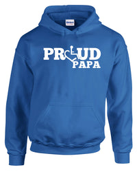 Proud Papa Hooded Pullover