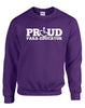 Proud Para-Educator Crewneck Sweatshirt