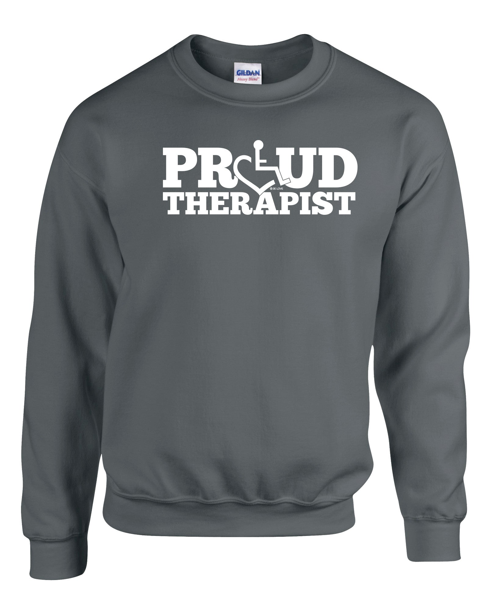 Proud Therapist Crewneck Sweatshirt