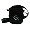 New! Embroidered 3E Love Shoulder Bag w/Wheelchair Heart
