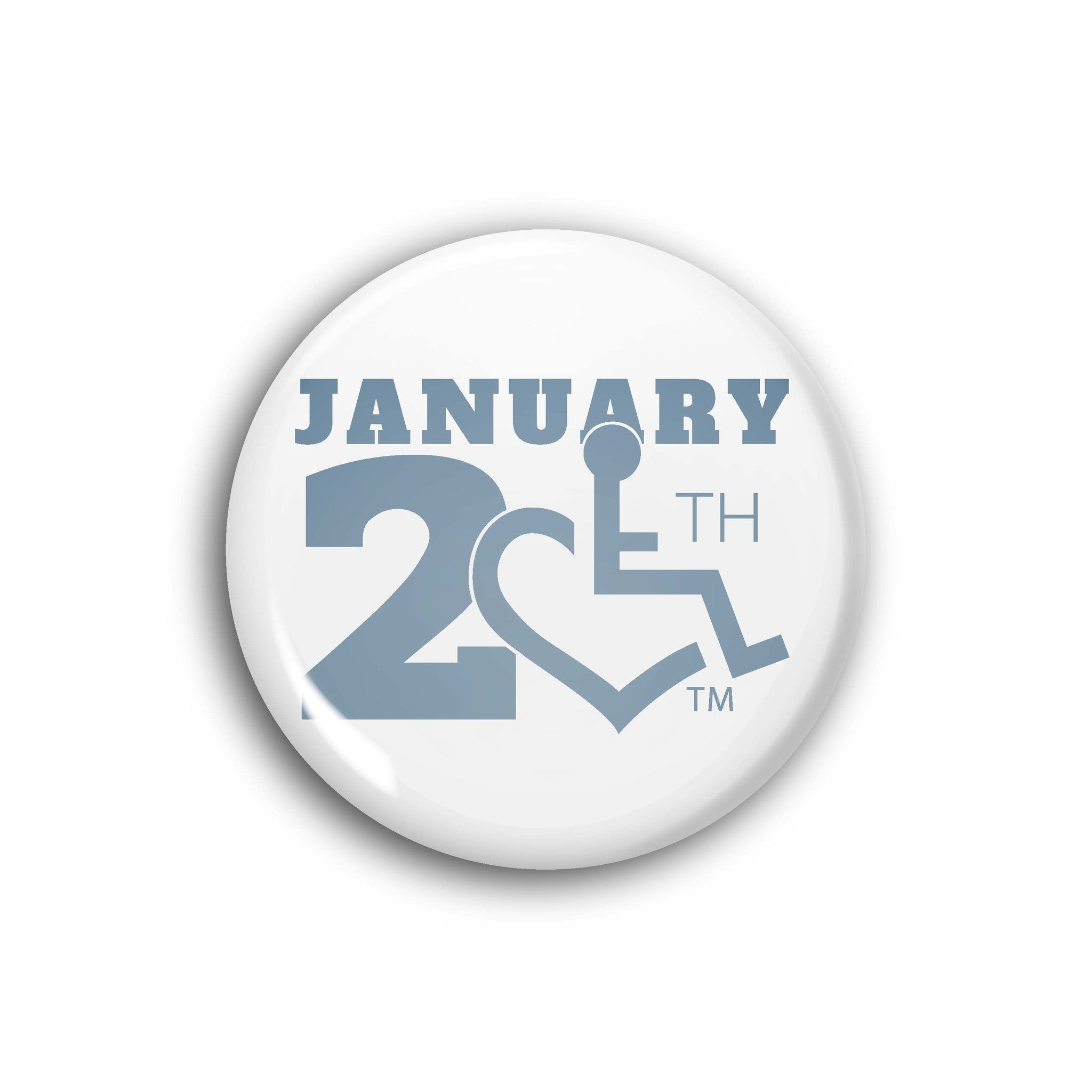 January 20th Logo Button