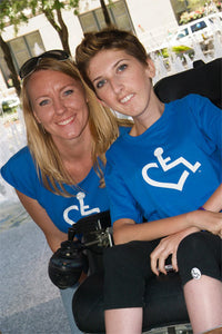 Royal Blue - Original Wheelchair Heart T-Shirt