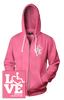LOVE Special Education Hooded Zip-Up