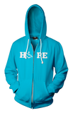 HOPE Hooded Zip-Up - Mermaid Green