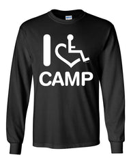 I Heart Camp Long Sleeve T-Shirt