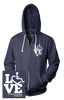LOVE Occupational Therapy Hooded Zip-Up