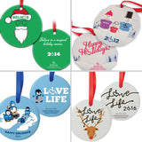 Past 3E Love Ornaments (2009-2018)