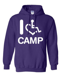 I Heart Camp Hooded Pullover
