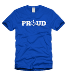 PROUD Tee - Royal Blue