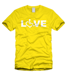 LOVE Tee - Sunshine Yellow