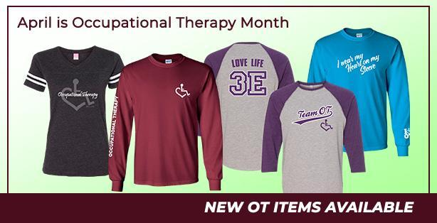 New Occupational Therapy items added for OT Month!