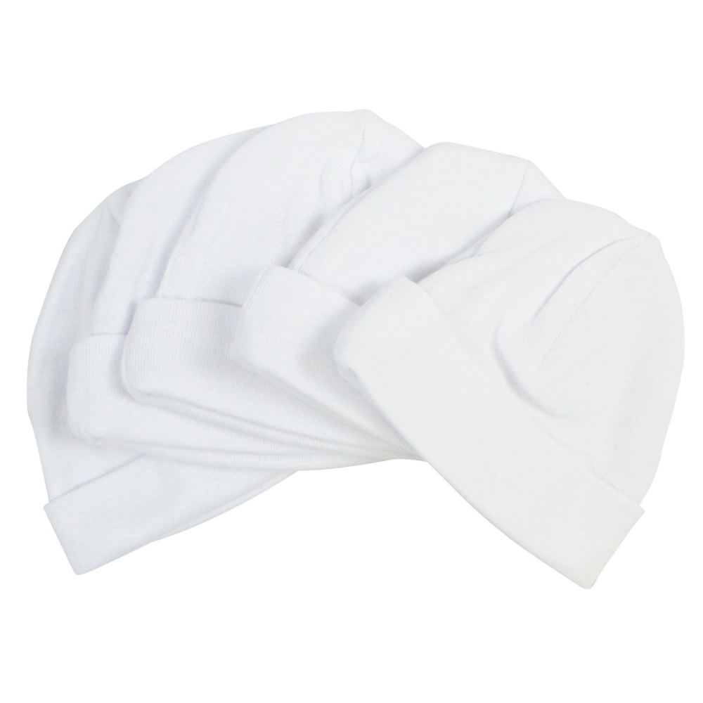 2a85a9d0a9c9b Bambini Blue   White Baby Caps (Pack of 5) - Made in USA – Always Gizmo