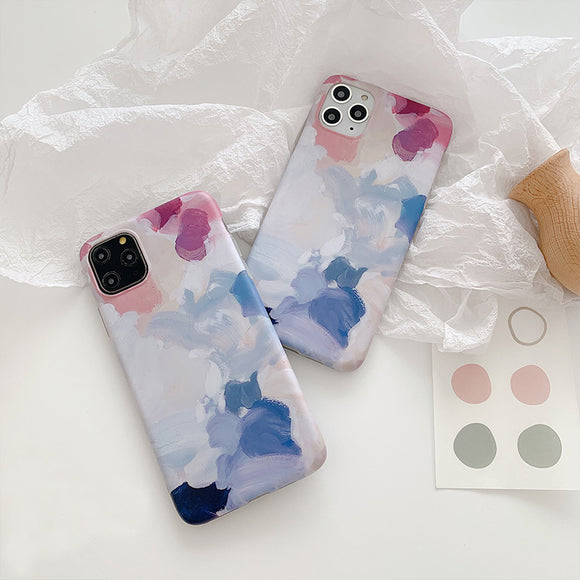 Watercolor Oil painting Case for iphone 11 Pro
