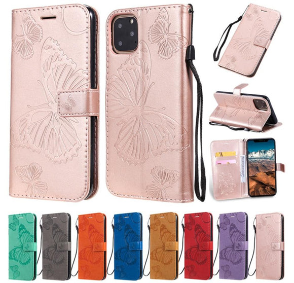 Leather Wallet Cases For iphone 11 Pro