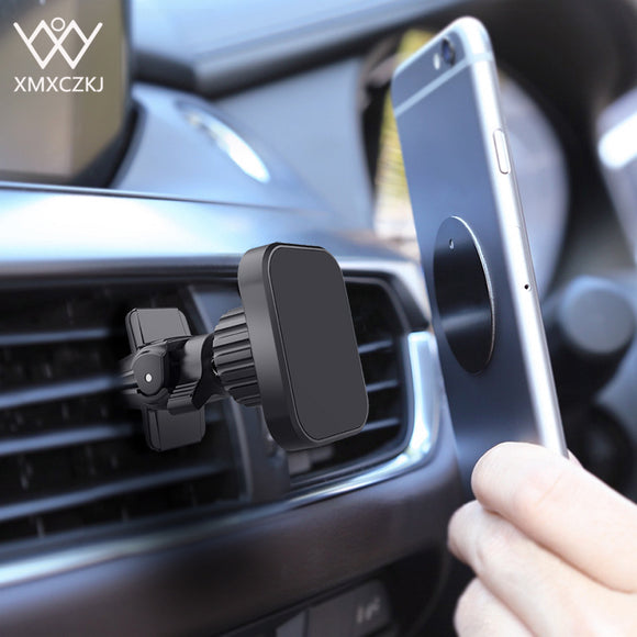 Universal Twist-Lock Air Vent Magnetic Phone  Holder in car
