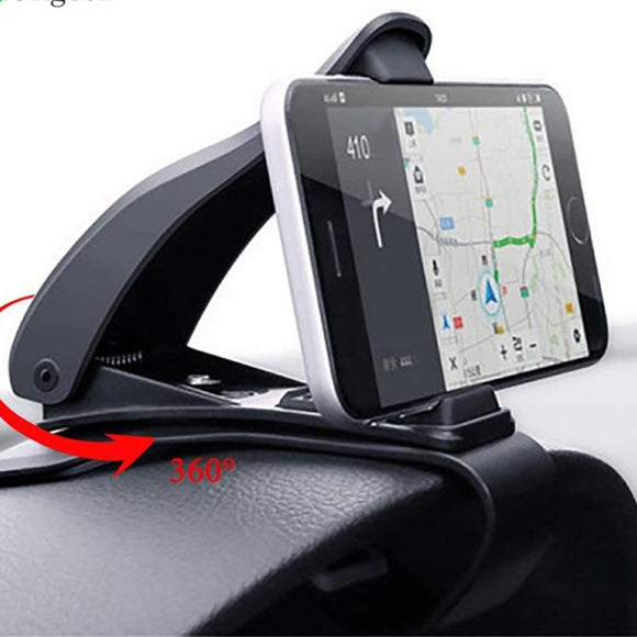 Car Phone Holder for Cell Phone in Car GPS Dashboard Universal 360