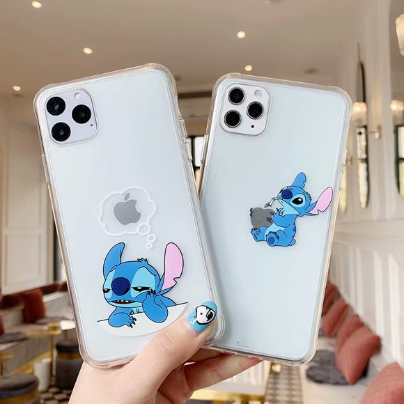 For iphone 11Pro Cartoon Super Funny Transparent