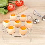 Stainless Steel Topper Cutter Egg Opener Creative Kitchen Tool Set.