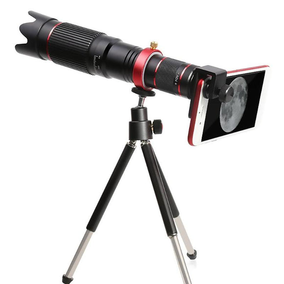 ALLOET 4K HD 36X Optical Zoom Camera  Lens Mobile Telescope Phone for iPhone