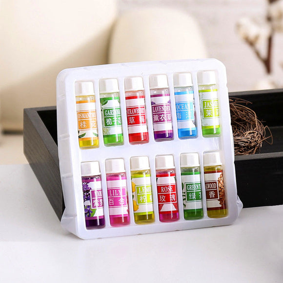 12pcs*5ML Natural  Reed Aromatherapy Essential oils Sets